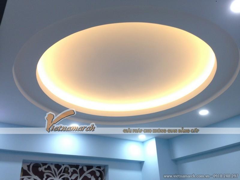 Đèn led âm trần 3 mầu - Viền trắng, vàng