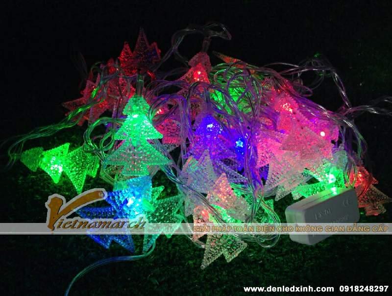 đèn trang trí hình cây thông