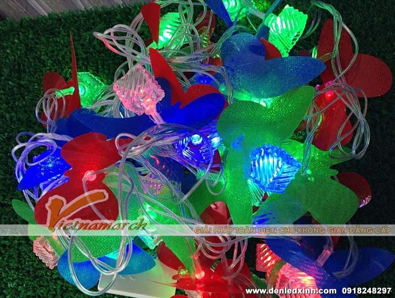 Đèn led dây xinh xắn trang trí quán cafe, hội trường