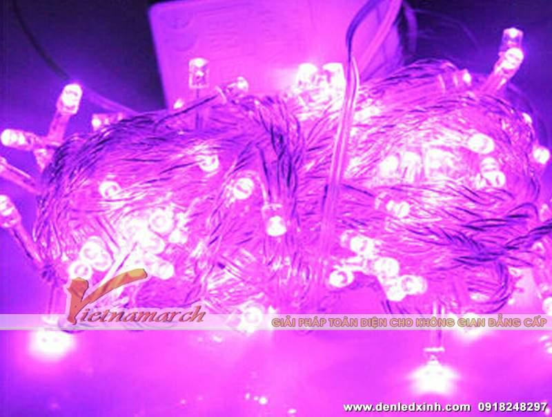 đèn trang trí hồng