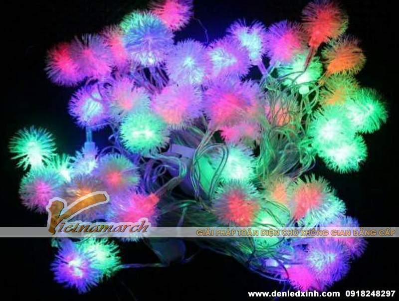 đèn trang trí hoa tuyết