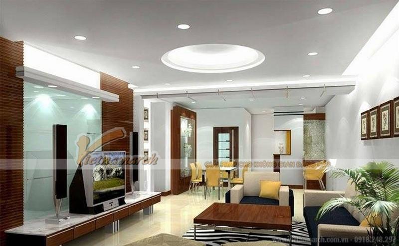 Những nguyên tắc lắp đèn led âm trần trang trí đẹp và hiệu quả cho căn hộ