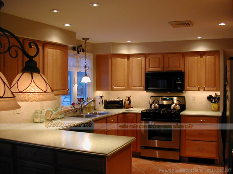 Những nguyên tắc lắp đèn led âm trần trang trí đẹp và hiệu quả cho căn hộ 03