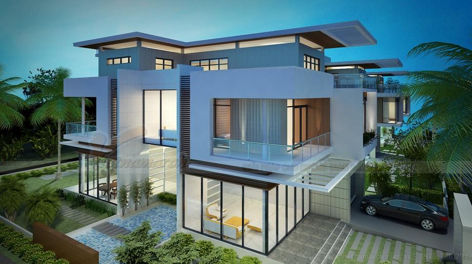 10++ mẫu biệt thự thiết kế theo lối kiến trúc hiện đại đẹp nhất thế giới!
