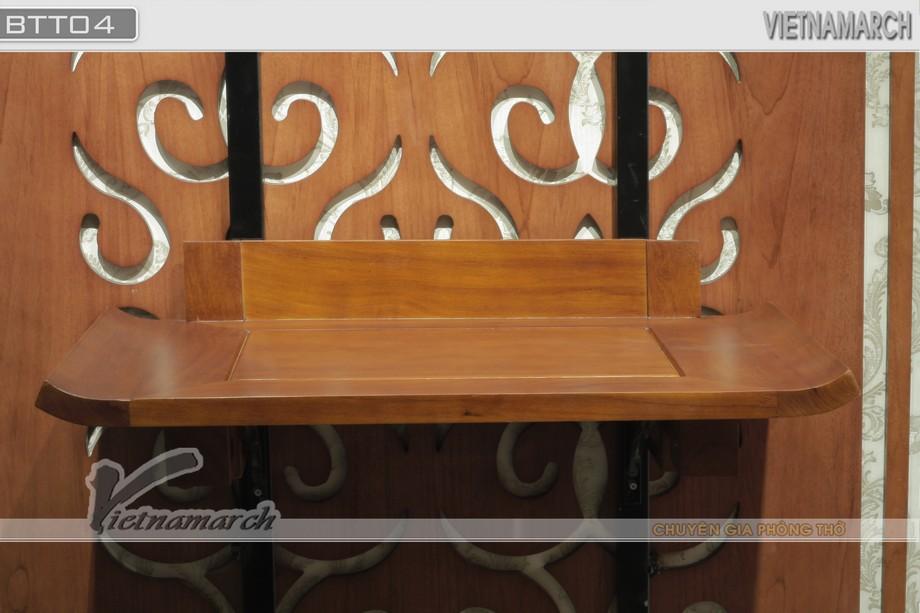Chiêm ngưỡng 10++ mẫu bàn thờ treo tường thiết kế đơn giản, độc đáo