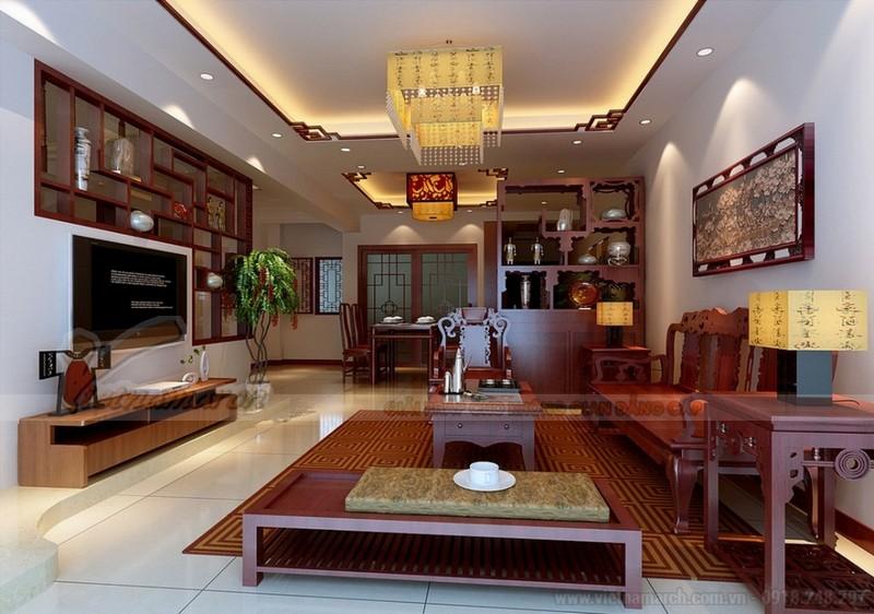 Trần thạch cao phòng khách vip