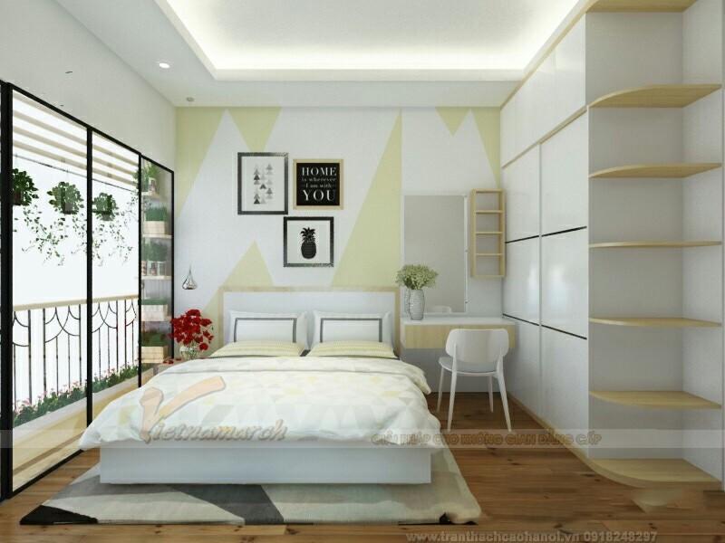Trần thạch cao phòng ngủ nam