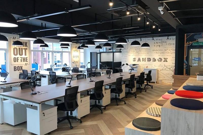 Mẫu thiết kế nội thất văn phòng theo mô hình coworking space