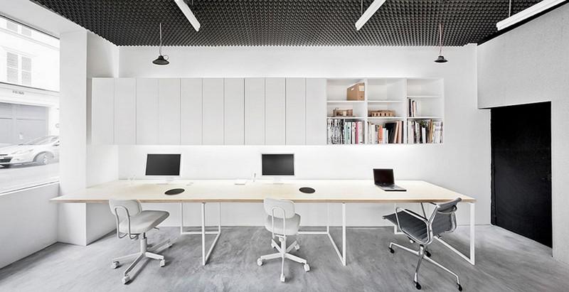 Mẫu thiết kế nội thất văn phòng phong cách đơn giản, Bắc Âu