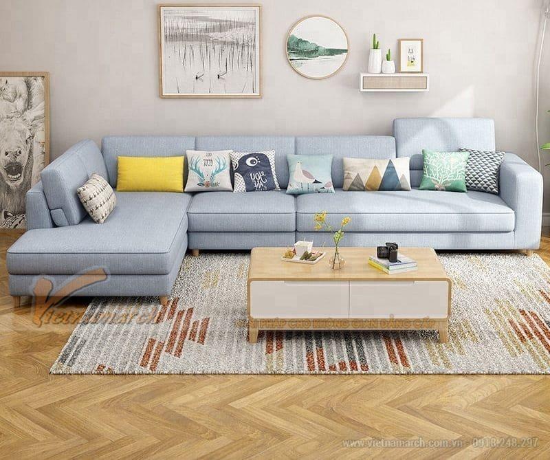 Kích thước sofa chuẩn tiêu chuẩn 3