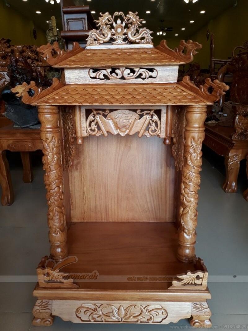 Cúng rằm tháng 7 bàn thờ Thổ Công 1