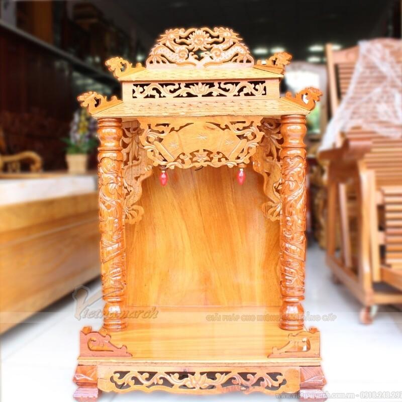 Cúng rằm tháng 7 bàn thờ Thổ Công 2