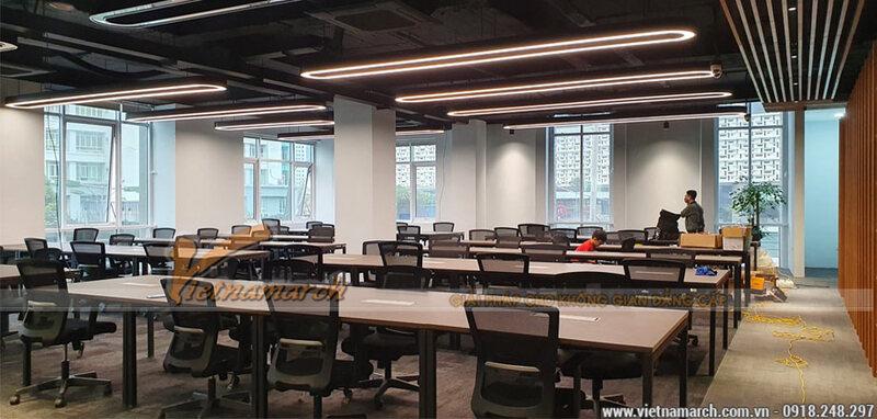 thiết kế văn phòng 40m2 2
